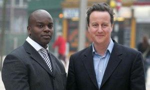 Shaun Bailey with David Cameron - valued advisor or token Black?